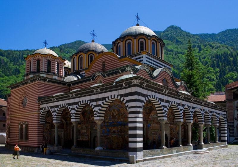 Болгария. Рильский монастырь.