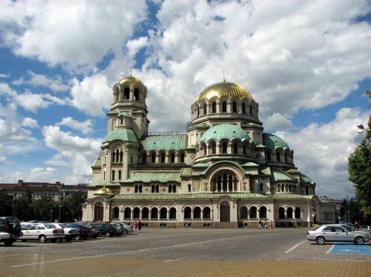 Болгария. Храм-памятник Александра Невского.