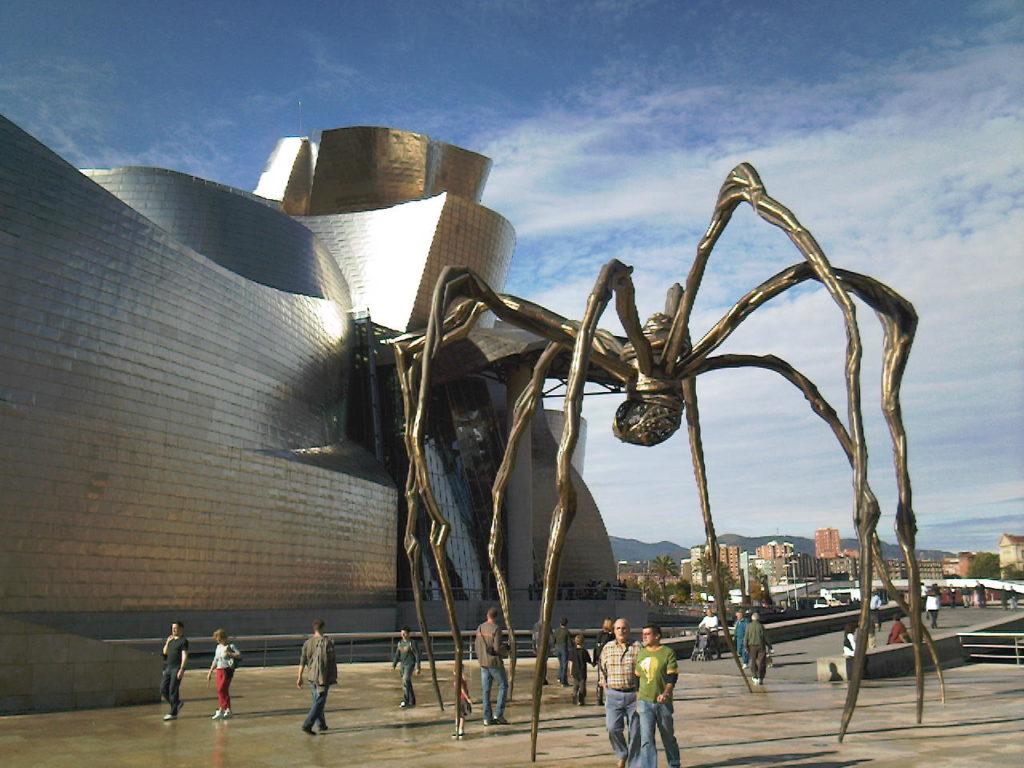 1097 Испания. Музей Гуггенхайма в Бильбао.