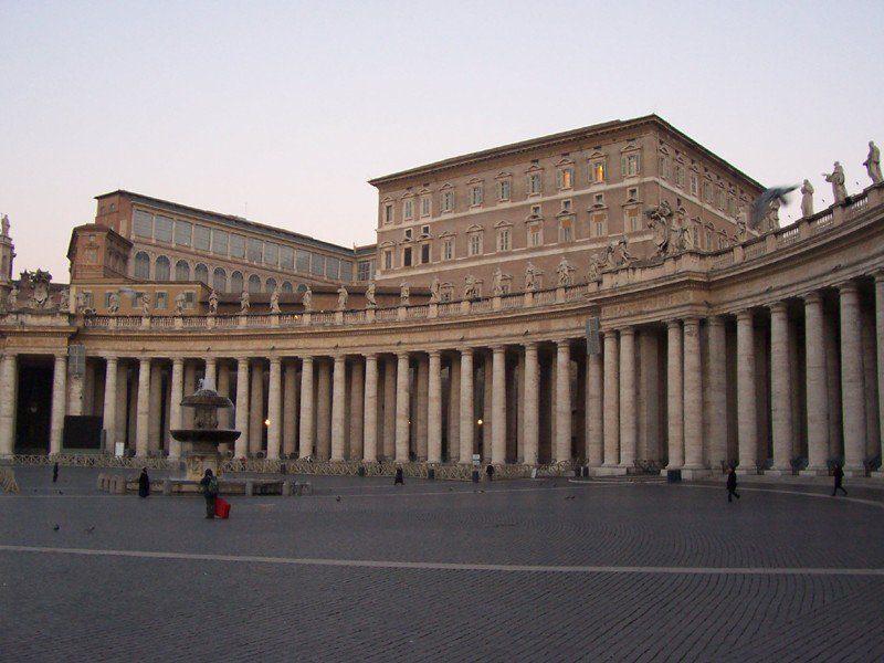 Ватикан. Апостольский дворец.