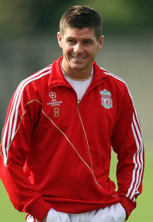 1134 Стивен Джеррард. Лучший английский футболист.