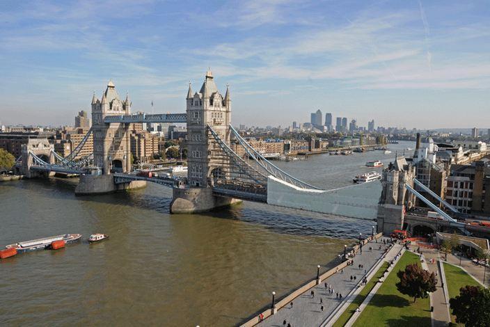 1682 Великобритания. Темза.