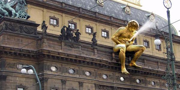 2387 Чехия. Скульптура Народ себе навсегда