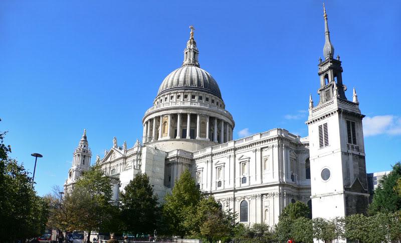 1696 Великобритания. Собор Святого Павла.