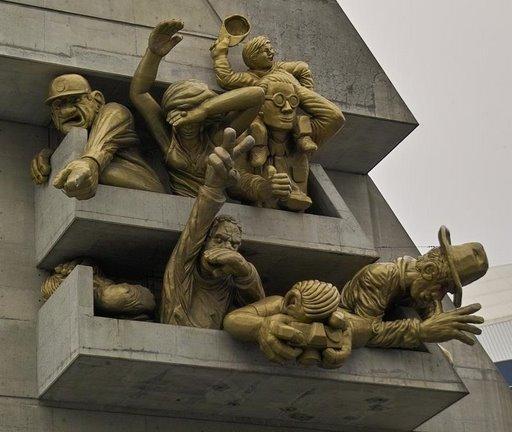 Канада. Памятник болельщикам