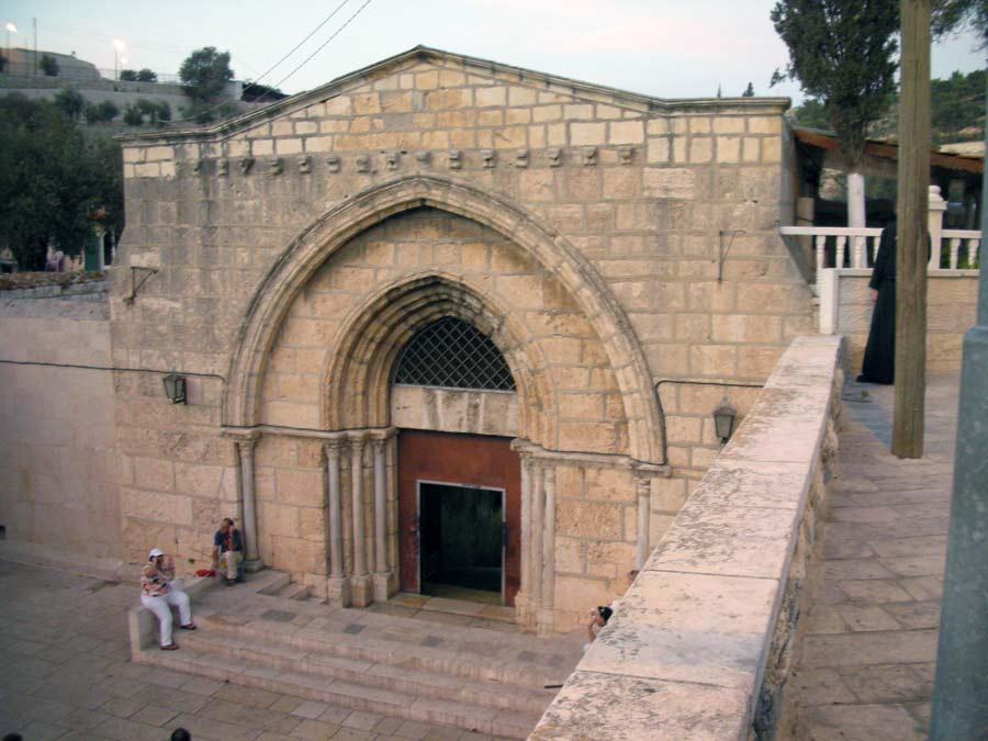 Израиль. Гробница Богородицы.