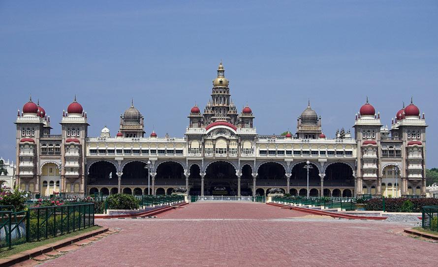 Индия. Майсурский дворец.