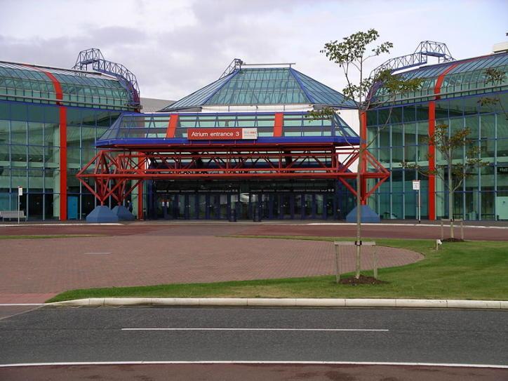Великобритания. Национальный выставочный центр Бирмингема.