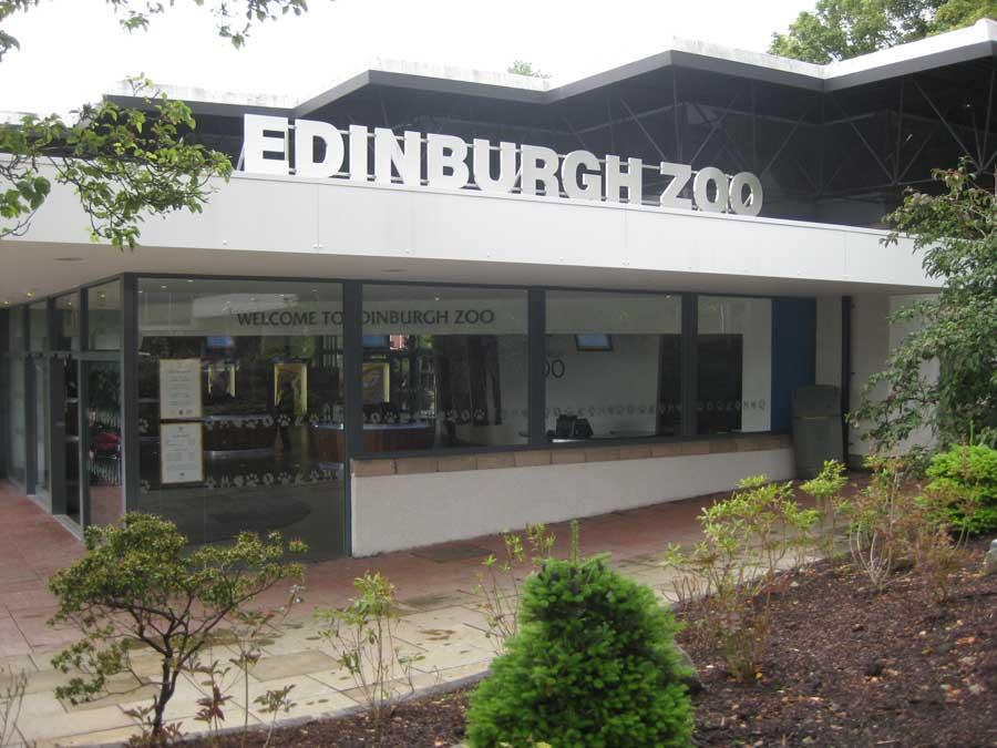Великобритания. Эдинбургский зоопарк.
