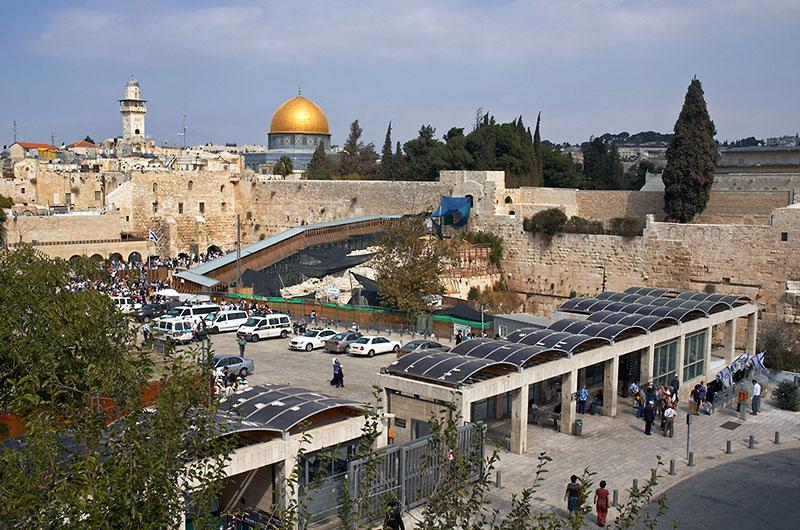 1229 Израиль. Храмовая гора.