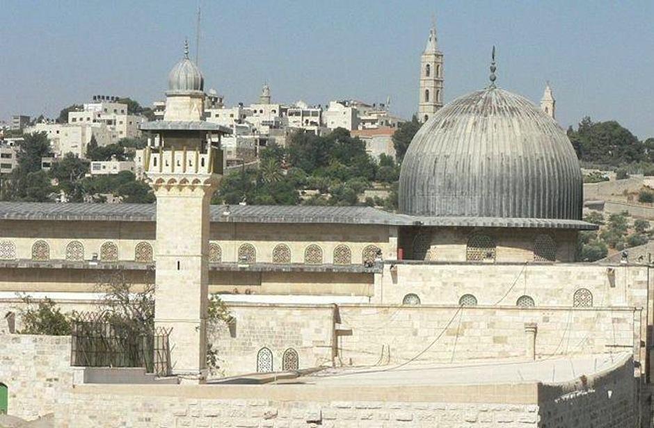 1231 Израиль. Мечеть аль-Акса.