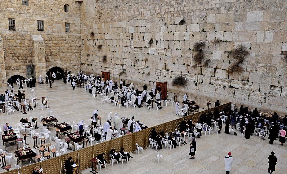 1223 Израиль. Стена плача.