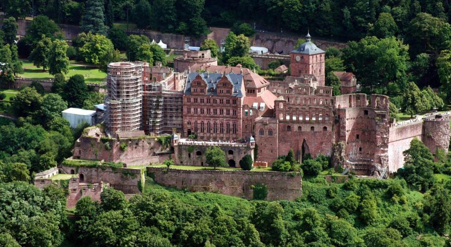 Германия. Гейдельбергский замок.