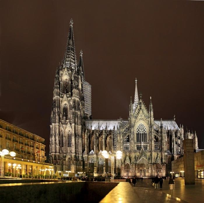 Германия. Кёльнский собор.
