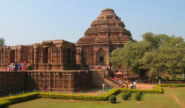 1380 Индия. Храм солнца в Конараке.