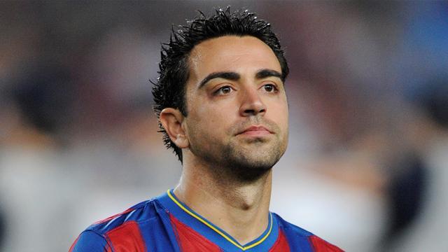 Футболист Хави. Испанский профессиональный футболист, который играет за ФК Барселона как центральный полузащитник.