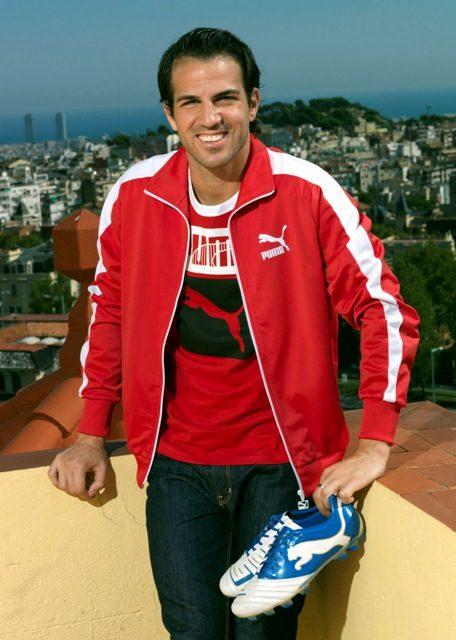 Футболист Cesc Фабрегас. В международном футболе началась национальная карьера испанца.