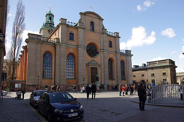 3222 Швеция. Церковь Святого Николая.