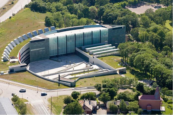 3353 Эстония. Музей Куму.