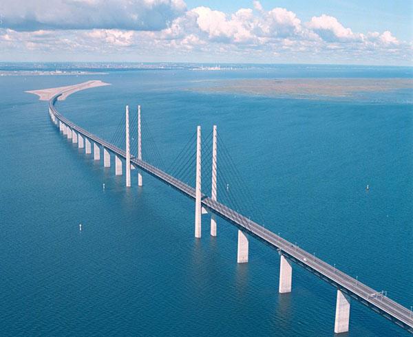Швеция. Эресуннский мост.