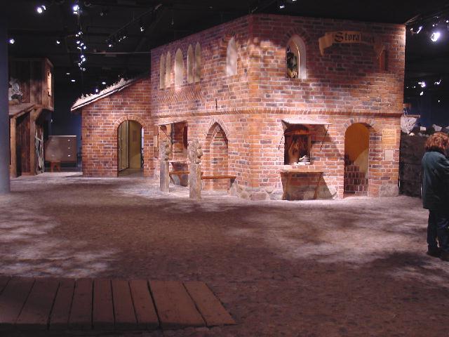 3219 Швеция. Музей Средневековья.