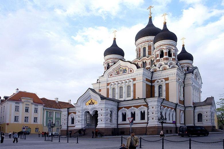 3337 Эстония. Александро - Невский собор.