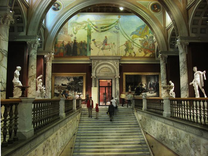 Швеция. Национальный музей Швеции.