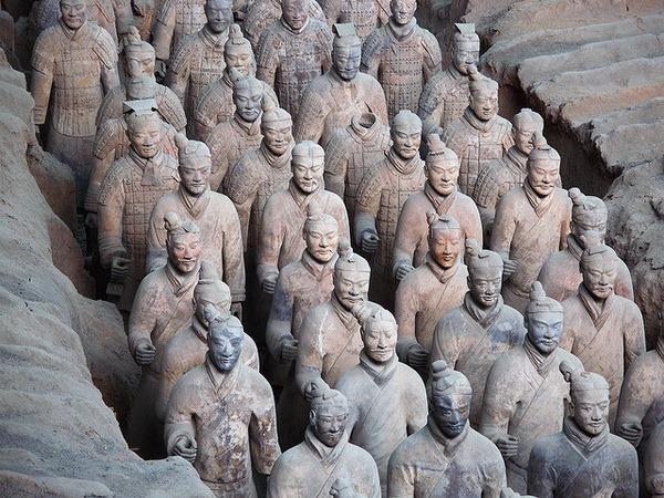2521 Китай. Терракотовая армия императора Цинь Шихуанди