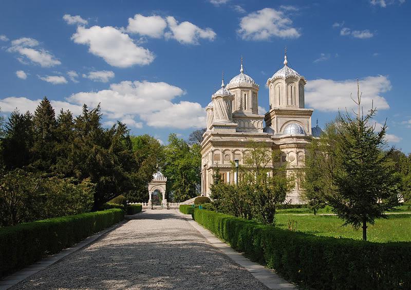 2935 Румыния. Собор в Куртя-де-Арджеш.