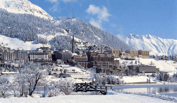 3009 Швейцария. Санкт-Мориц.