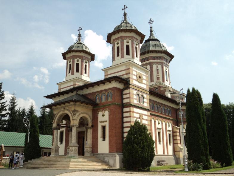 2911 Румыния. Монастырь Синая.