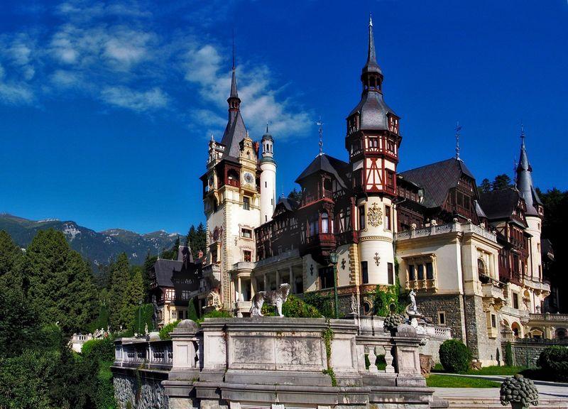 2901 Румыния. Замок Пелеш.