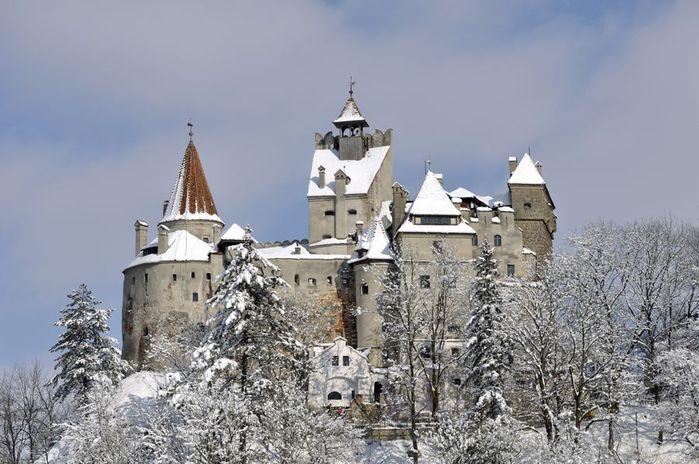 2895 Румыния. Замок Дракулы(Бран).
