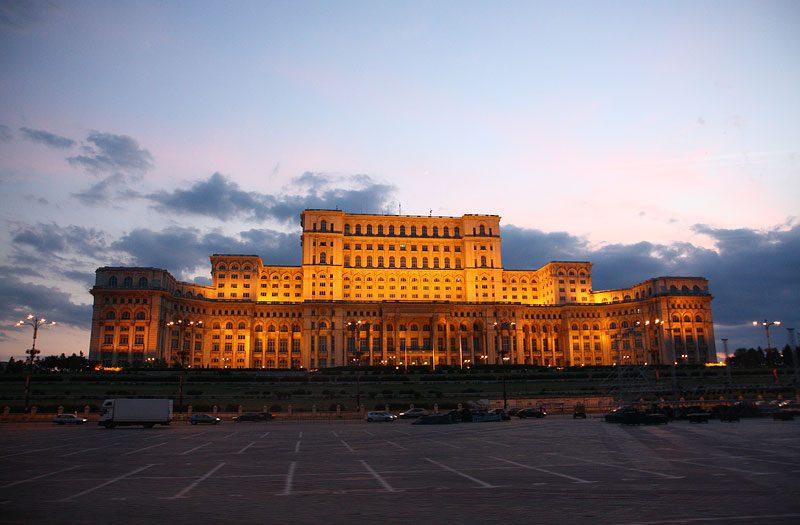 Румыния. Дворец Парламента.