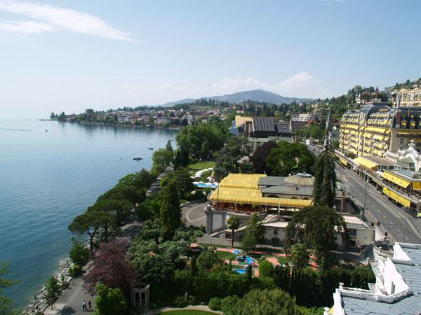Швейцария. Монтрё.