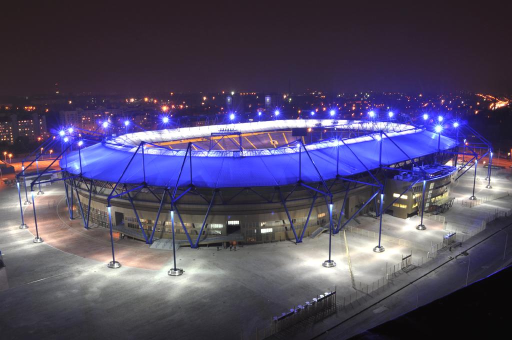 Украина. Стадион Металлист.