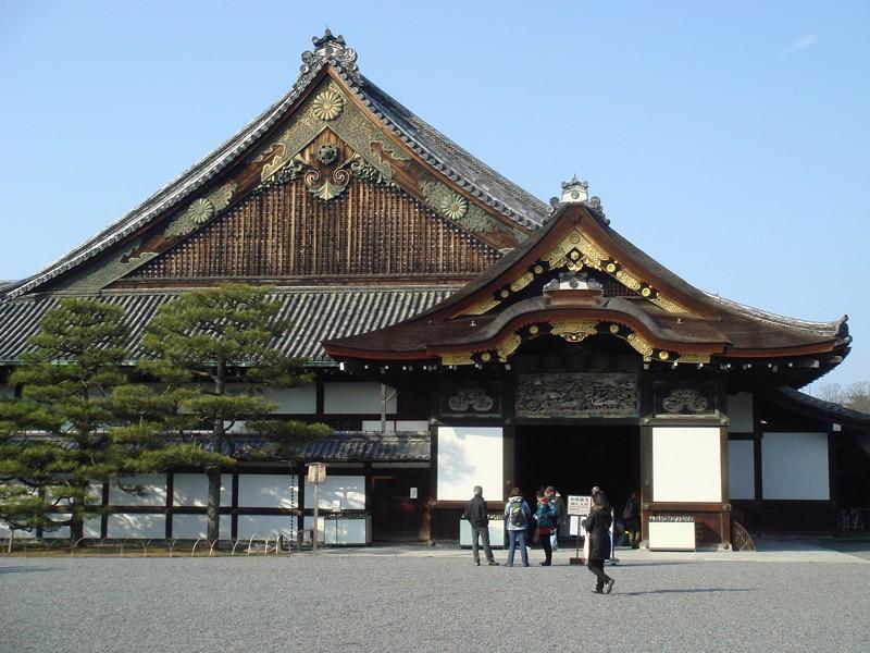 3983 Япония. Замок Нидзо.