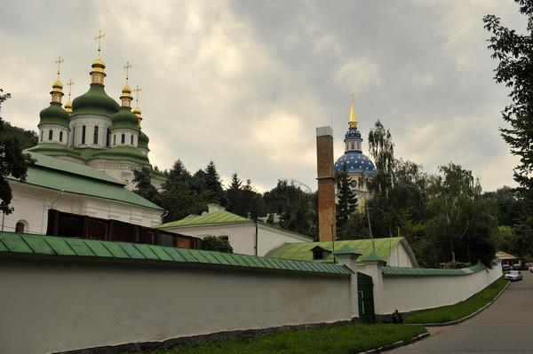 Украина. Выдубицкий монастырь.