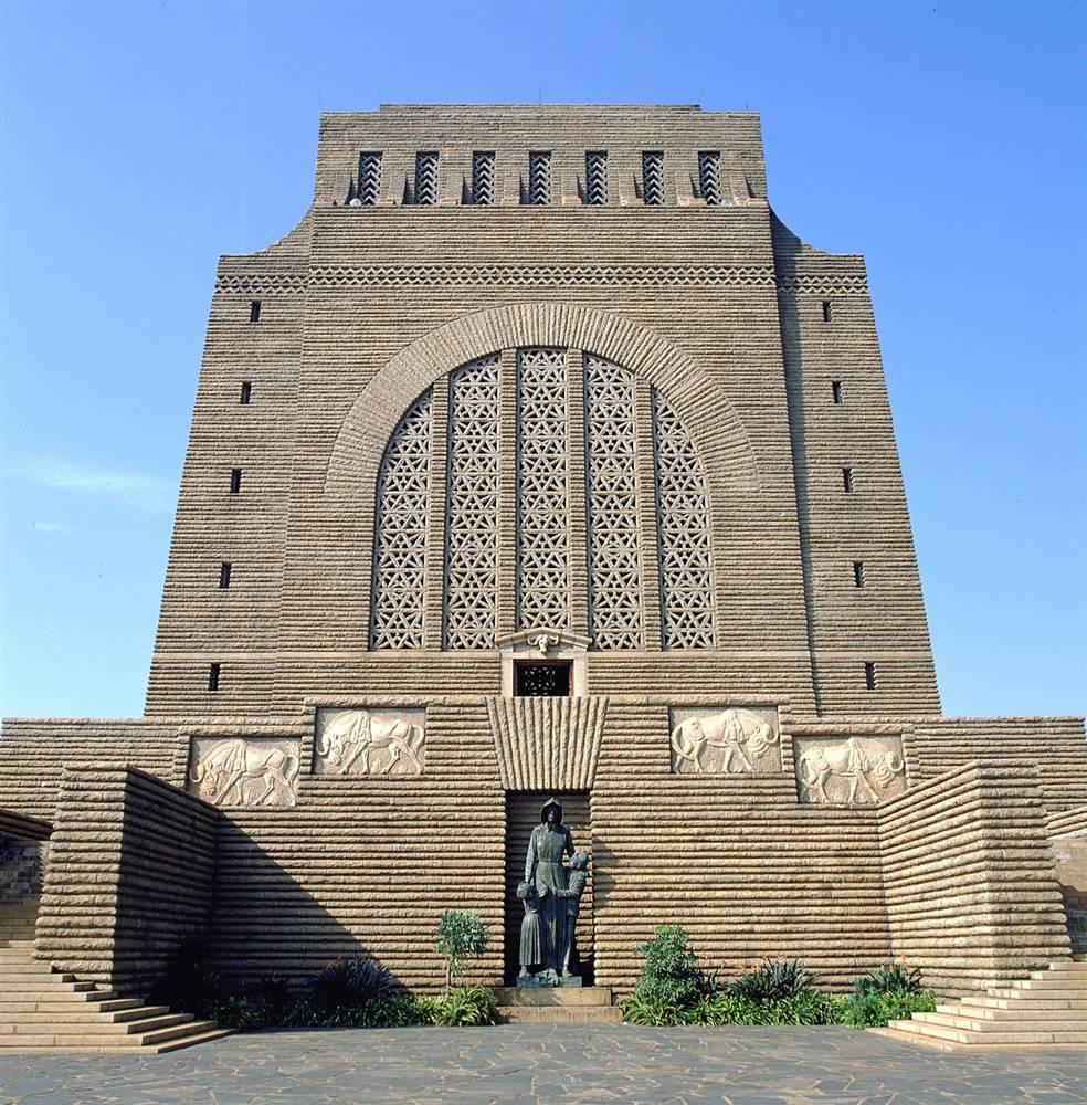 ЮАР. Памятник Вуртреккер.