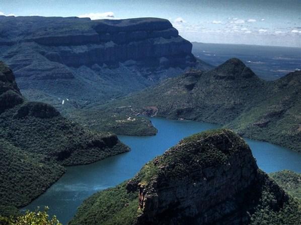 ЮАР. Каньон реки Блайд.