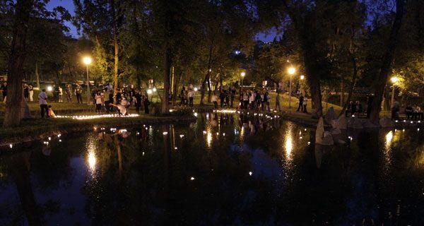 Армения. Парк Влюбленных.