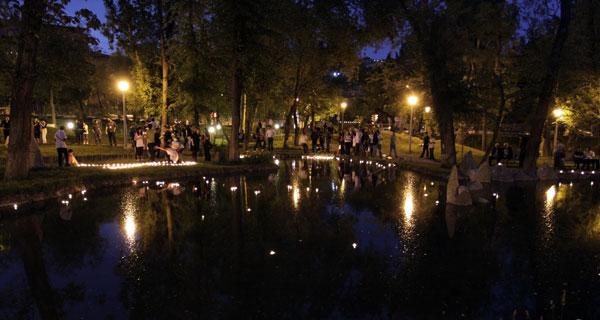 3908 Армения. Парк Влюбленных.