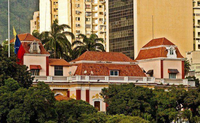 Венесуэла. Дворец Мирафлорес.