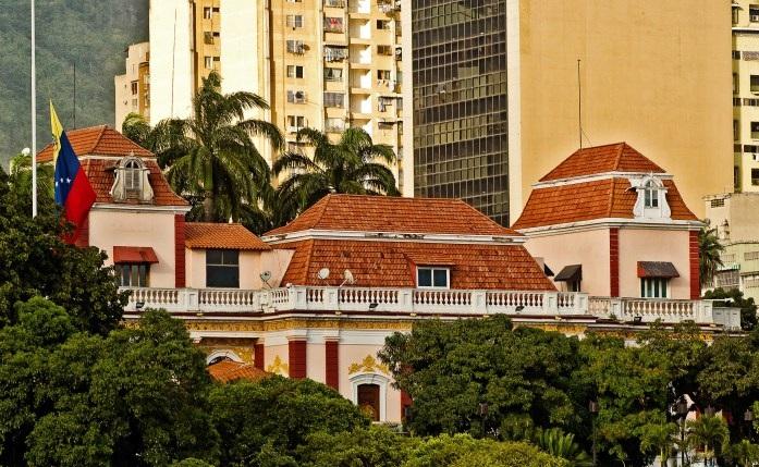 4363 Венесуэла. Дворец Мирафлорес.