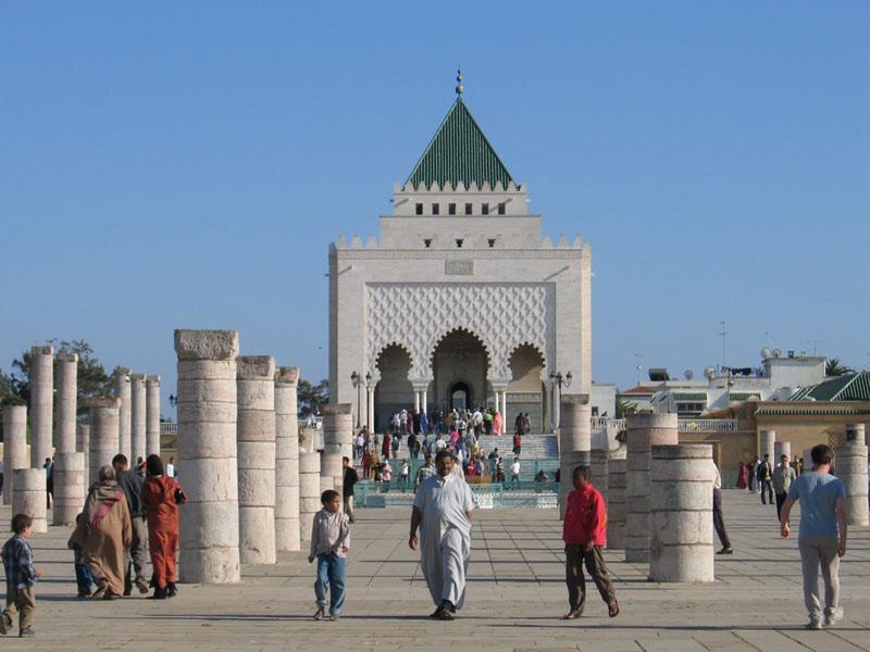 4158 Марокко. Мавзолей Мухаммеда V.