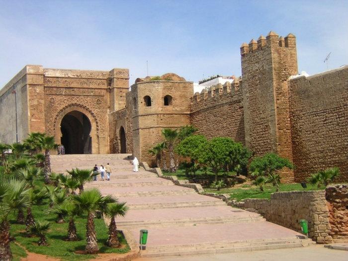 Марокко. Касба Удайя.