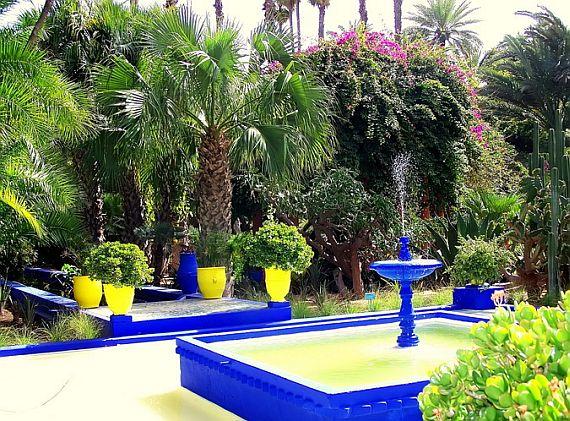 4192 Марокко. Сад Мажорель.