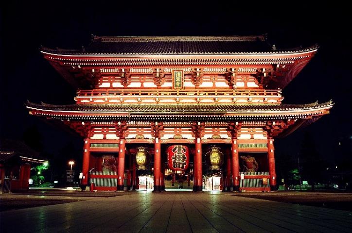 Япония. Сэнсо-дзи.