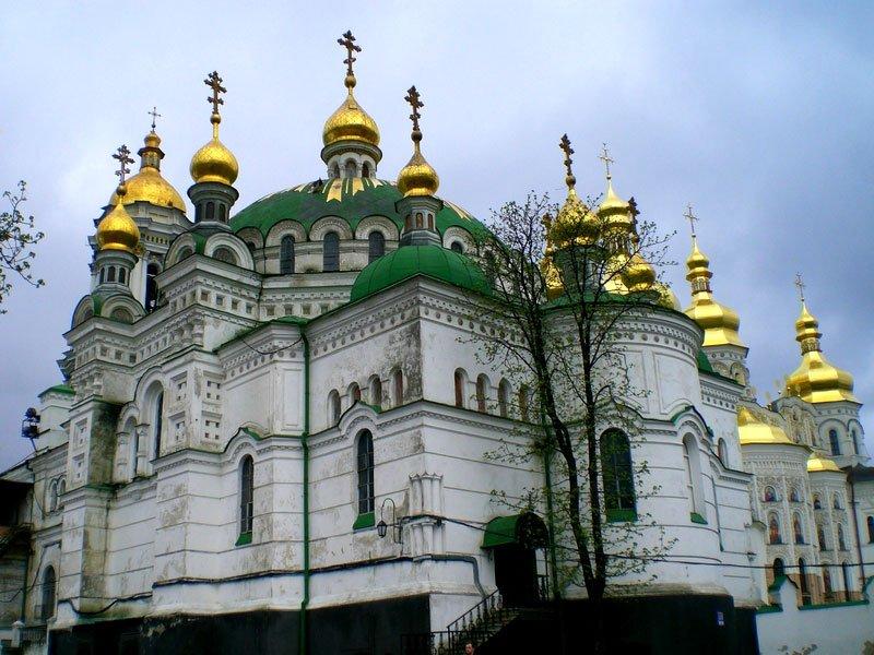 Украина. Киево-Печерская лавра.