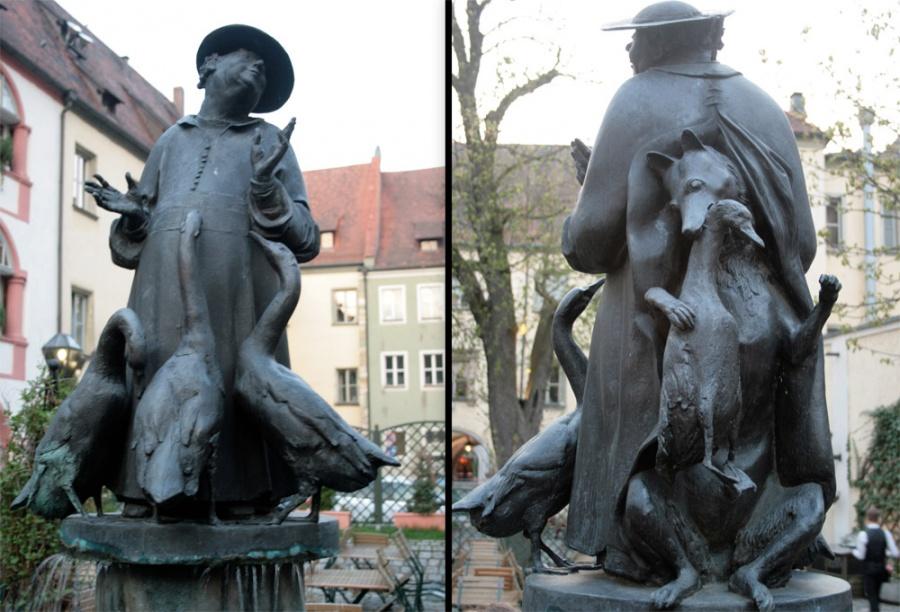 Германия. Скульптура Лукавый святоша